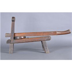 Antique Chinese Wood Carved Rice Cake Maker