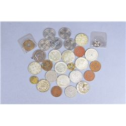 28 Assorted Chinese Coins