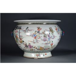 18th/19th C. Chinese Famille Rose Fish Bowl