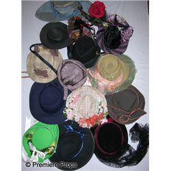 Lot of Period Hats