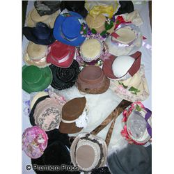 Lot of Women's Bonnets