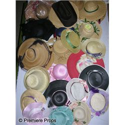 Lot of Assorted Hats (Rancher, Straw, Bonnets, Skimmers)