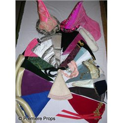 Lot of Medieval Ladies Hats