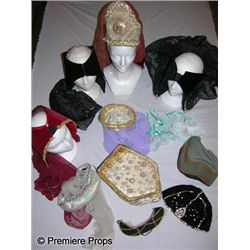 Lot of Medieval Men's & Women's Hats