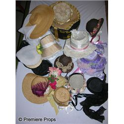 Lot of Mixed Period Hats & Hat Box