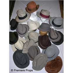 Lot of Men's Zoot Suit Fedoras & Women's Cloche Hats
