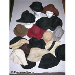 Lot of Amish Style Felt Floppy Hats