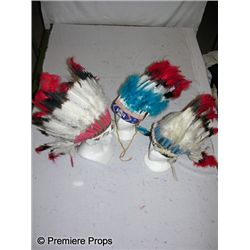 Lot of Handmade Indian Headdresses
