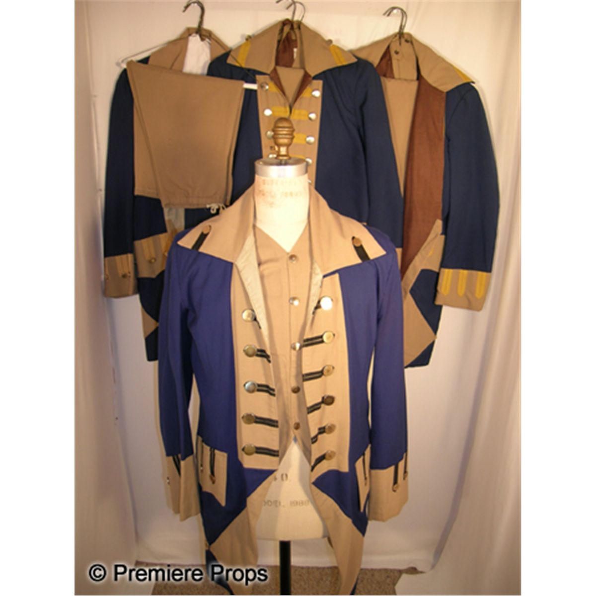 Lot of Colonial Revolutionary War Uniforms