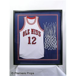 The Blind Side Sean's (Tim McGraw) 'Ole Miss' Framed Basketball Jersey