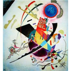 Kandinsky  Blue Circle 