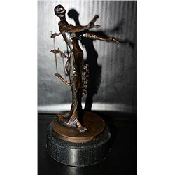 Dali Limited Edition Bronze  Sculpture - Woman With Drawers