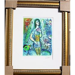 Circus Fan Dancer - Chagall - Limited Edition