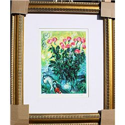 Les Roses - Chagall - Limited Edition