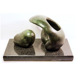 Henry Moore Limited Edition Bronze - Reclining Figure