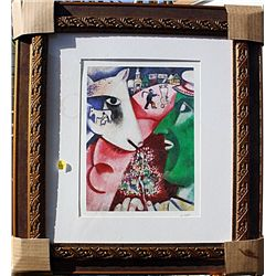 Me and the Village - Chagall - Limited Edition