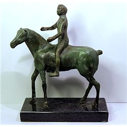 Marino Marini Original, limited Edition  Bronze -  CAVALIER