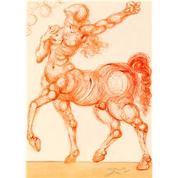 Spinning Man - Dali - Limited Edition on Canvas