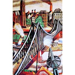 Max Beckman - The Iron Bridge - Limited Edition on Paper