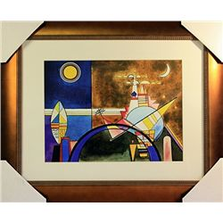 Wassily Kandinsky Limited Edition-The Great Gate of Kiev