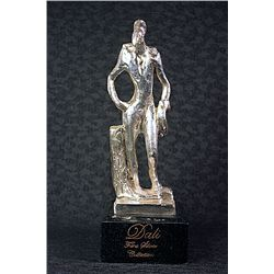 Dali Signed and Numbered Real Silver Sculpture - Birdman
