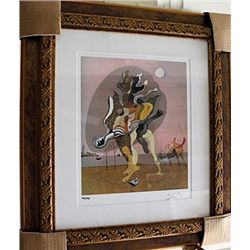 Salvador Dali Signed Limited Edition - The Rotting Dokey
