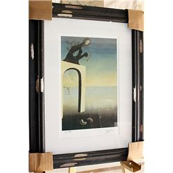 Salvador Dali Signed Limited Edition - Vision Of Eternity