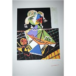 Limited Edition Picasso - Maya with Boat - Collection Domaine Picasso