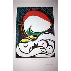 Limited Edition Picasso - Sleeping Nude (Vertical) - Collection Domaine Picasso