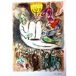 Marc Chagall Limited Edition - 10 Commandments