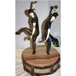 Russian Dancer - Bronze and Ivory Sculpture by Chiparus