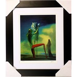 Salvador Dali Signed Limited Edition - The Knight Death