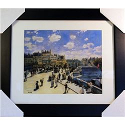 Pierre August Renoir  Limited Edition-View of Bougavil