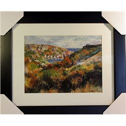 Pierre August Renoir  Limited Edition-Hills and the Bay of Moulin Huet
