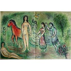 Marc Chagall Original Lithograph from L'Odyssée Suite