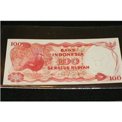 Foreign bank note, Bank Indonesia 100 Seratus Rupiah