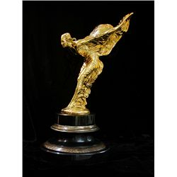 Spirit of Ecstasy - 24K Gold Layered Limited Edition Sculpture