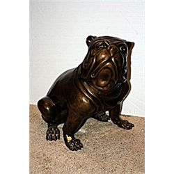 Bronze Brittish Bulldog