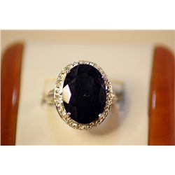 Lady's Fancy Blue Sapphire Ring