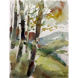 Michael Schofield  Hand Signed  Water Color on Paper
