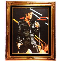 Giclee Giclee on Canvas of Elvis Presley