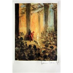 Original Louis Icart Lithographs from Le Faust suite - A Desperate Plea