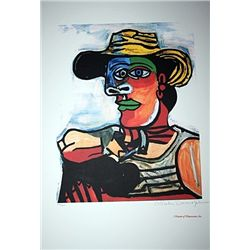 Limited Edition Picasso - The Sailor - Collection Domaine Picasso