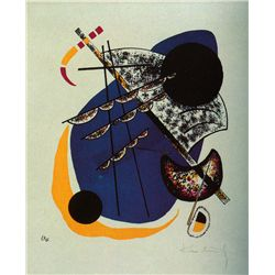 From Small Worlds Type B - Kandinsky - Limited Edition on Canvas