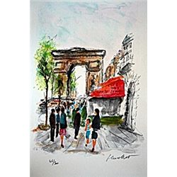Arc de Triomphe by Urbain Hutchet