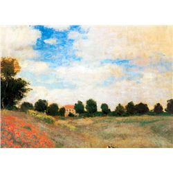 Poppies - Monet - Limited Edition on Canvas\