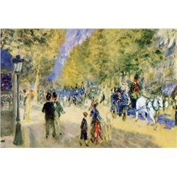 TheGreatBoulevards - Renoir - Limited Edition on Canvas