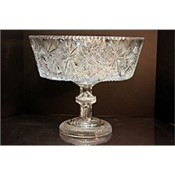 Clear Crystal Punch Bowl