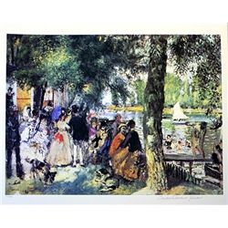 Limited Edition Renoir- Bathing In The Seine - Collection Domaine Renoir