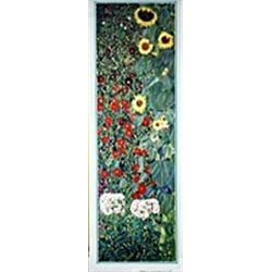 Garden of Sunflowers by Klimt